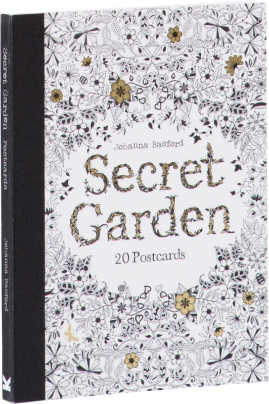Buy Secret Garden Postcards At Mighty Ape NZ