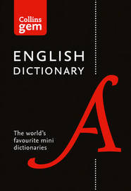 Collins English Dictionary Gem Edition by Collins Dictionaries