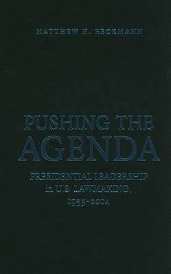 Pushing the Agenda by Matthew N. Beckmann image