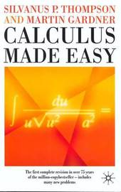 Calculus Made Easy by S.P. Thompson image