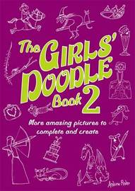 The Girls' Doodle Book 2 by Andrew Pinder image