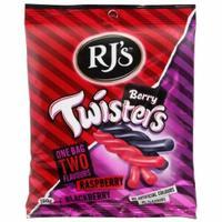 RJ's Berry Twisters - Raspberry & Blackberry (180g)