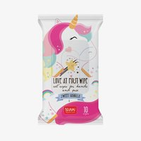 Legami: Love At First Wipe Wet Wipes - Unicorn / Vanilla