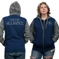 World of Warcraft Alliance Pride Zip-Up Hoodie (XL)