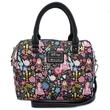 Loungefly: Beauty and the Beast - Print Duffle Bag