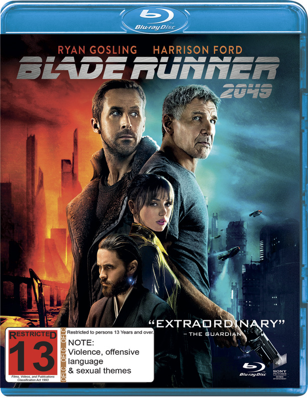 Blade Runner 2049 on Blu-ray