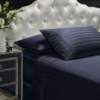 1200 Thread Count Damask Stripe Sheet Set - King (Blue Fog)