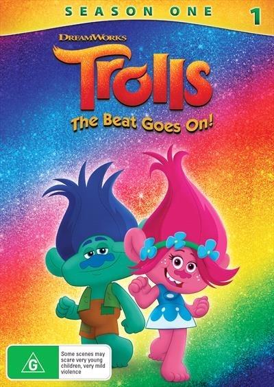 Trolls: The Beat Goes On on DVD
