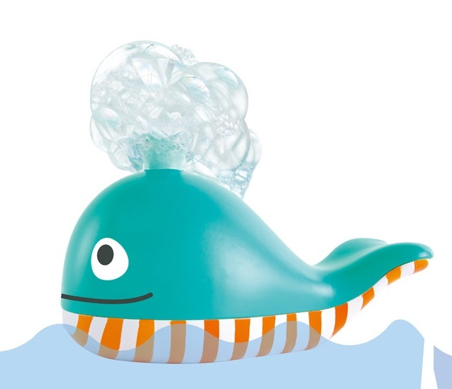 Hape: Bubble Blowing Whale - Bath Toy image