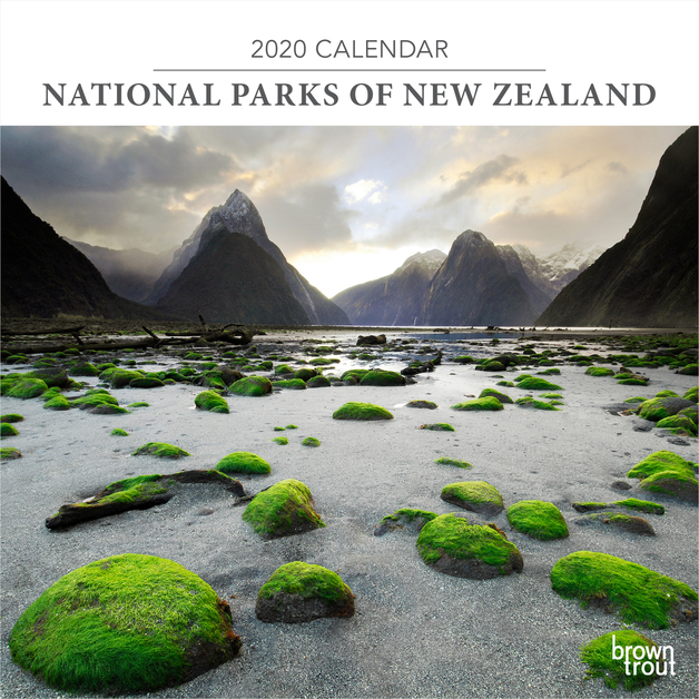 National Parks of New Zealand 2020 Mini Wall Calendar