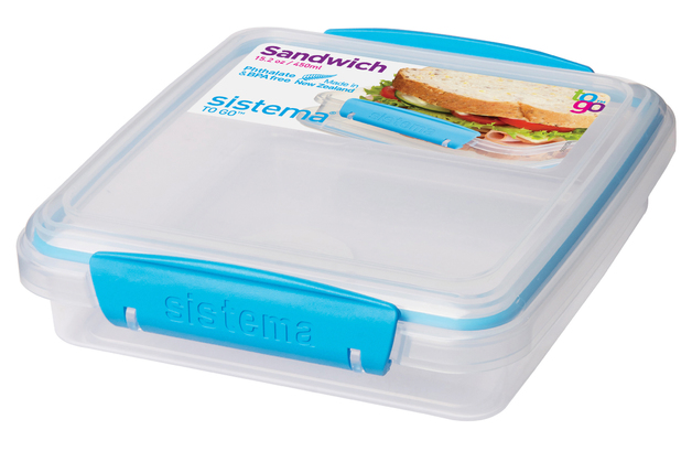 Sistema To Go Sandwich Box (450ml)