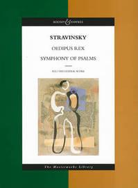 Oedipus Rex/ Symphony of Psalms by Igor Stravinsky