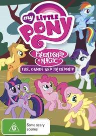 My Little Pony: Friendship is Magic (Volume 4) - Fun, Games & Friendship on DVD