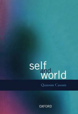 Self and World by Quassim Cassam image