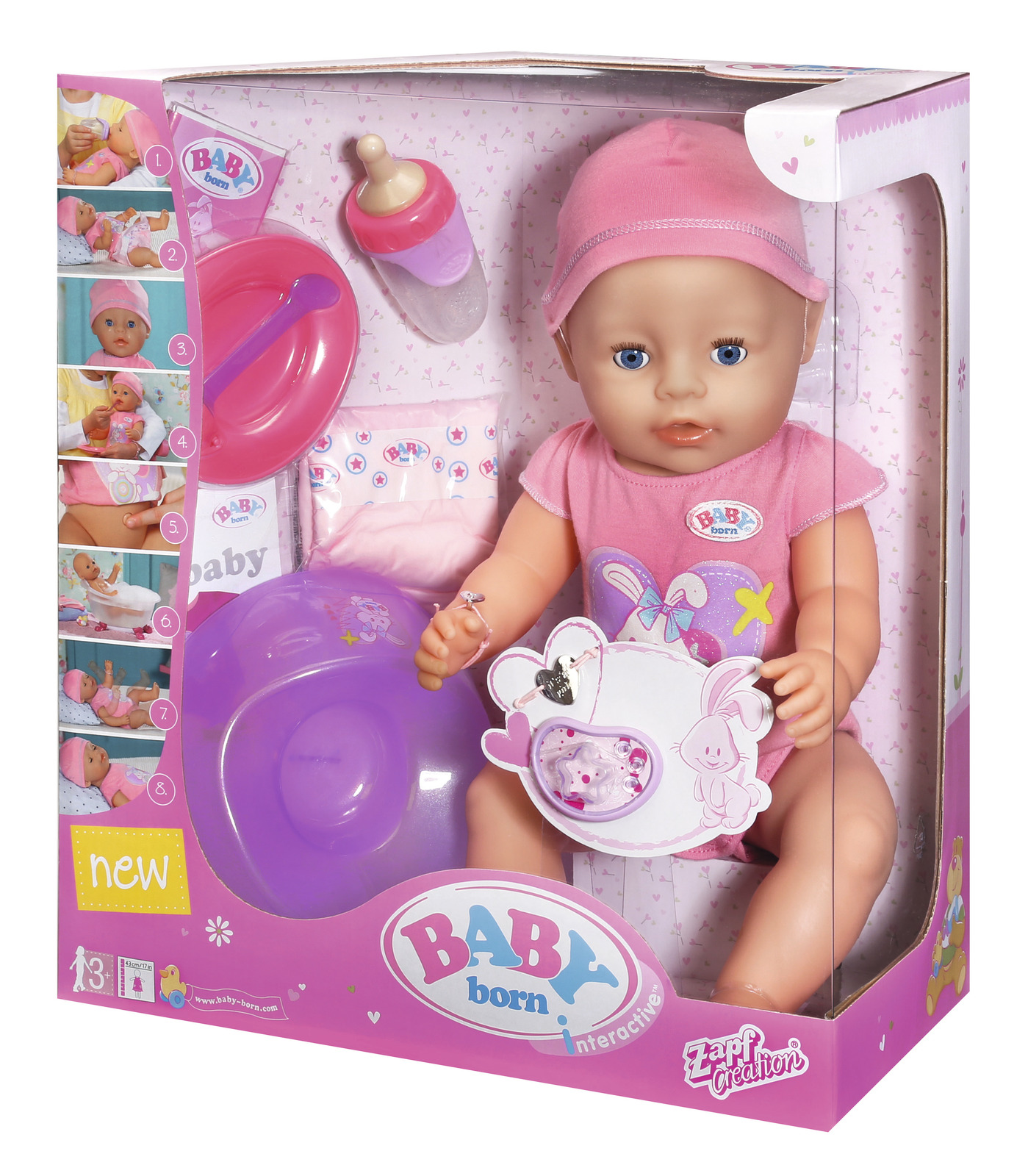 Baby Born Interactive Doll image