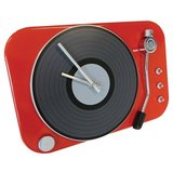 Wall Clock Spin - Red