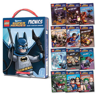 LEGO DC Super Heroes: Phonics Box Set by Quinlan B Lee image