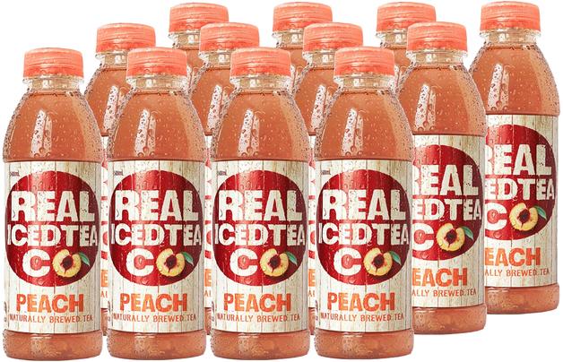 Real Iced Tea Peach 500ml (12 Pack)