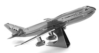 Metal Earth: Boeing 747 Commercial Jet - Model Kit image
