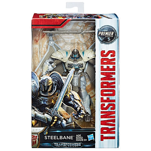 Transformers: The Last Knight - Premier Edition Deluxe Steelbane image