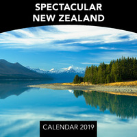 Spectacular New Zealand 2019 Mini Wall Calendar