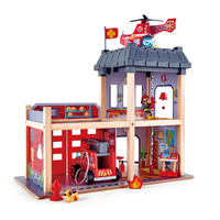 Hape: Fire Station - Wooden Playset