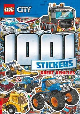 Lego - City - 1001 Stickers by Centum Books Ltd image