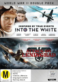 War Double: Attack on Leningrad & Into the White on DVD
