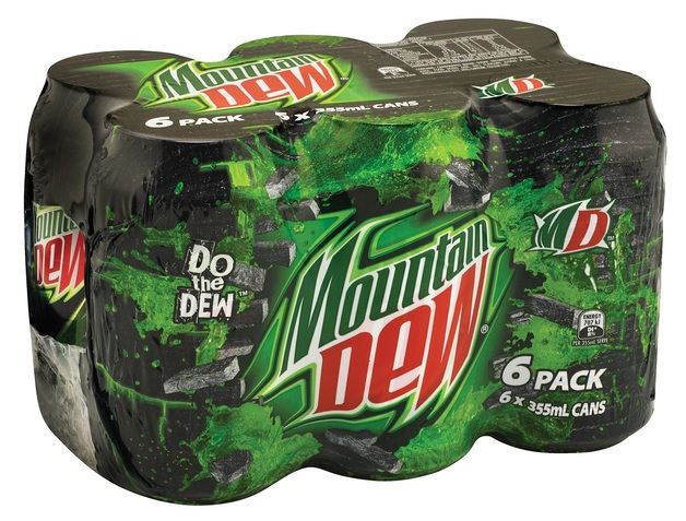 Mountain Dew Original Cans 355ml (24 Pack)
