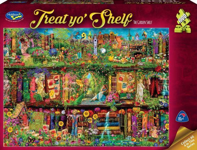 Holdson: 1000 Piece Puzzle - Treat Yo'Shelf (The Garden Shelf)