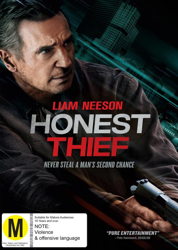 Honest Thief on DVD