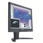 """Philips 20"""" 200P7IB Black UXGA LCD TFT Flat Panel Monitor"""