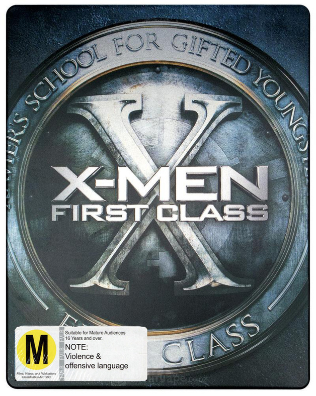 X-Men: First Class (Steelbook 2 Disc Edition) on Blu-ray