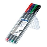 Staedtler 403 Triplus Rollerball Pen 0.4mm Pkt4