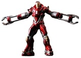 Iron Man 3 Battlefield Collection: Mark 35 Red Snapper Model Kit