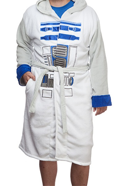 Star Wars: R2-D2 - Fleece Bathrobe
