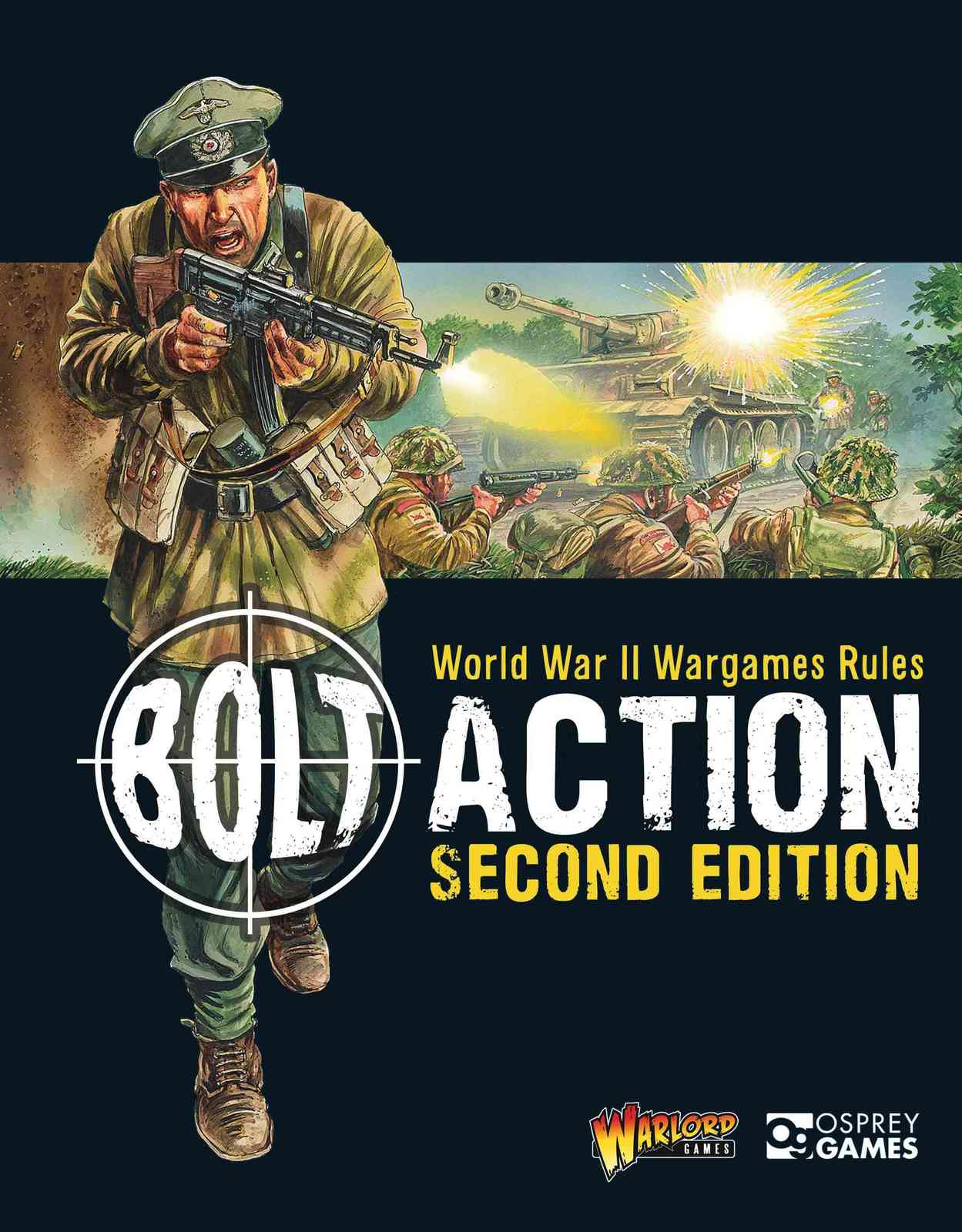 Bolt Action: World War II Wargames Rules by Warlord Games image