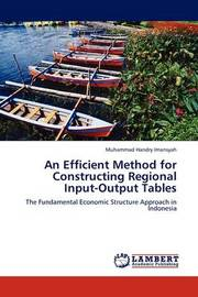 An Efficient Method for Constructing Regional Input-Output Tables by Muhammad Handry Imansyah image