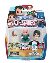 Ooshies: Justice League - 4 Pack (Series 2)