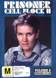Prisoner - Cell Block H: Vol. 8 - Episodes 113-128 (4 Disc Set) on DVD image