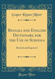 Bengali and English Dictionary, for the Use of Schools by Gopee Kissen Mitter image