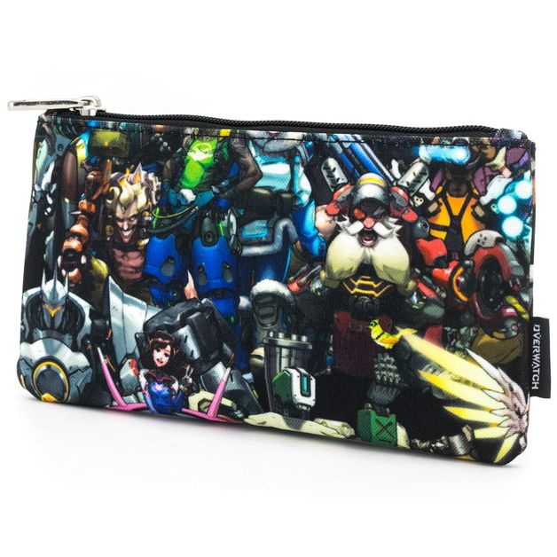 Loungefly: Overwatch - Collage Print Pencil Case