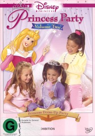 Disney Princess Party Vol 2 - Princess Dress-Up Party on DVD image