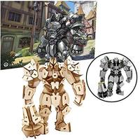 Incredibuilds: Overwatch: Reinhardt 3D Wood Model