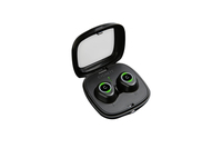 Cygnett: FreePlay BT Earphones with rechargeable battery case-Black