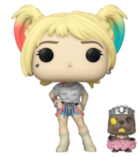Birds of Prey - Harley (with Beaver) Pop! Vinyl Figure image