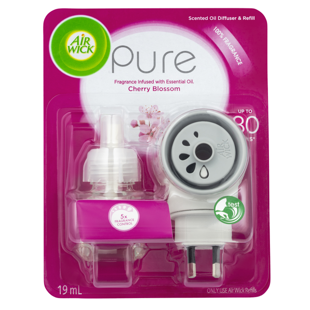 Airwick: Pure Le Scented Oil Plug In Cherry Blossom