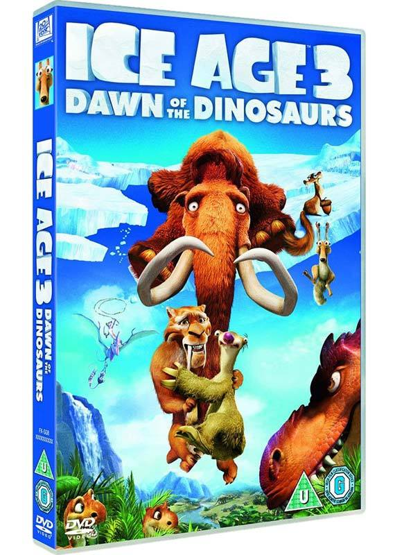 Ice Age 3: Dawn of the Dinosaurs on DVD