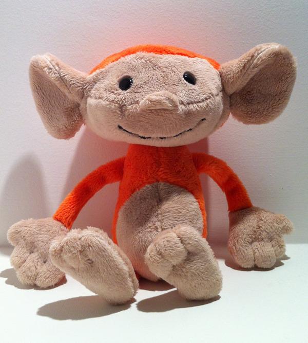 Mighty Ape Monkey Plush (18cm)