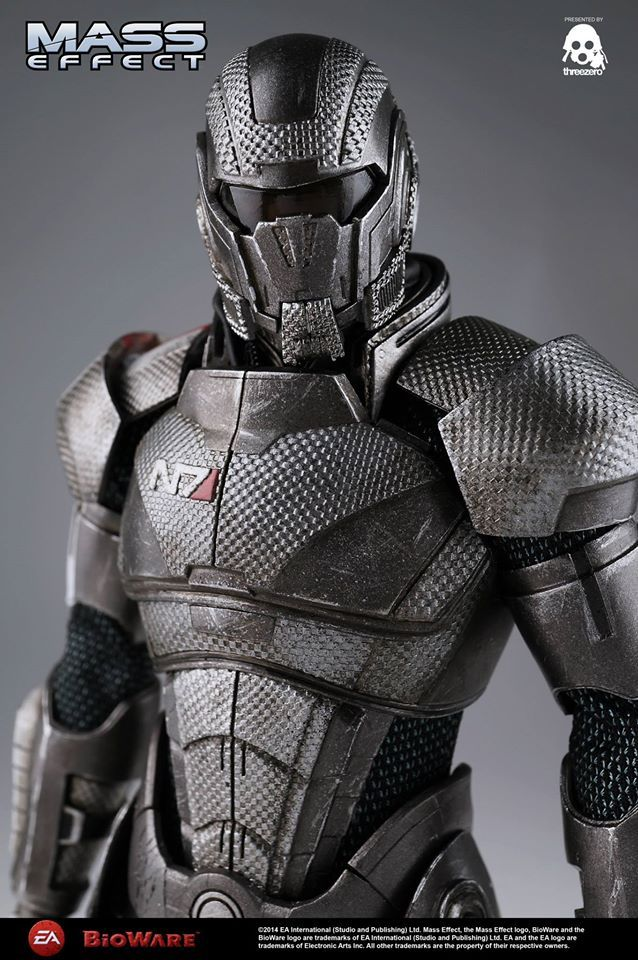 Mass Effect 3 Commander Shepard 12 Quot Figure At Mighty Ape Nz